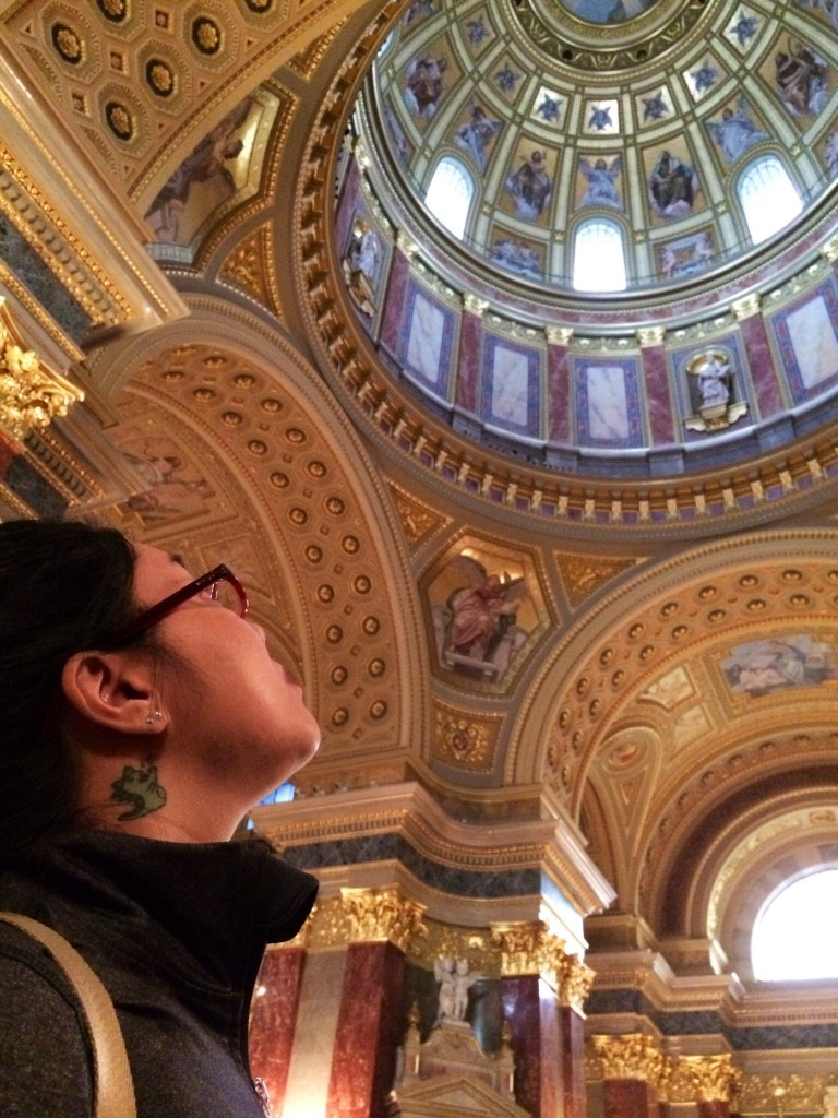 Sarah at Saint Stephen's Basilica
