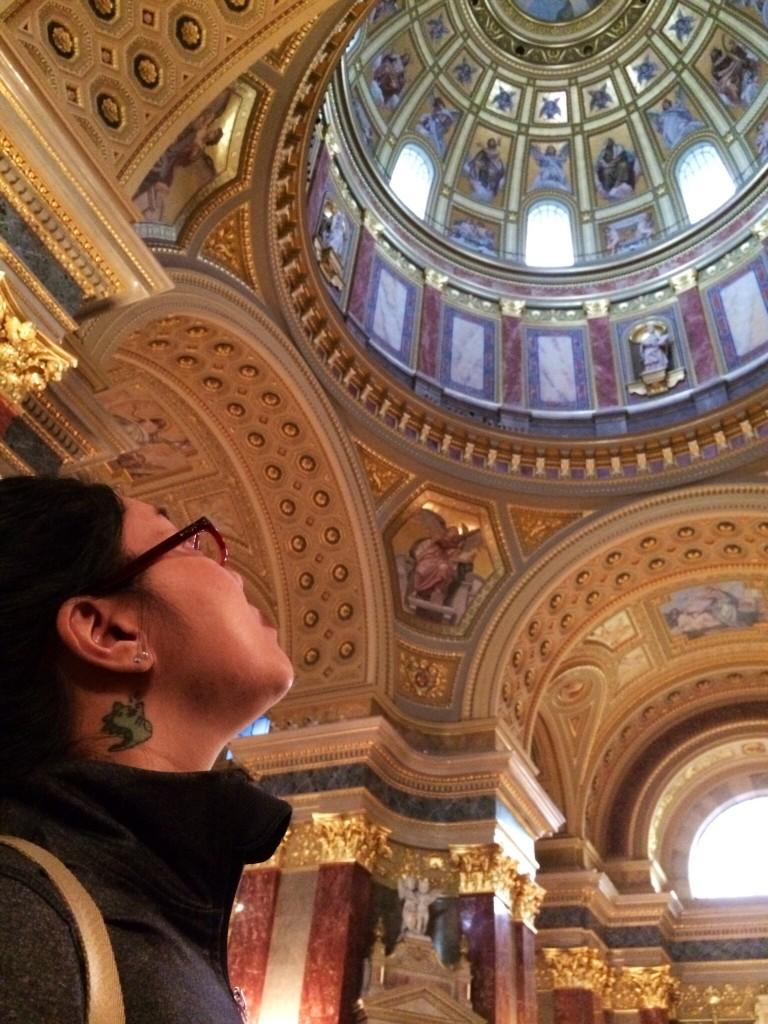 Sarah at Saint Stephen's Basilica