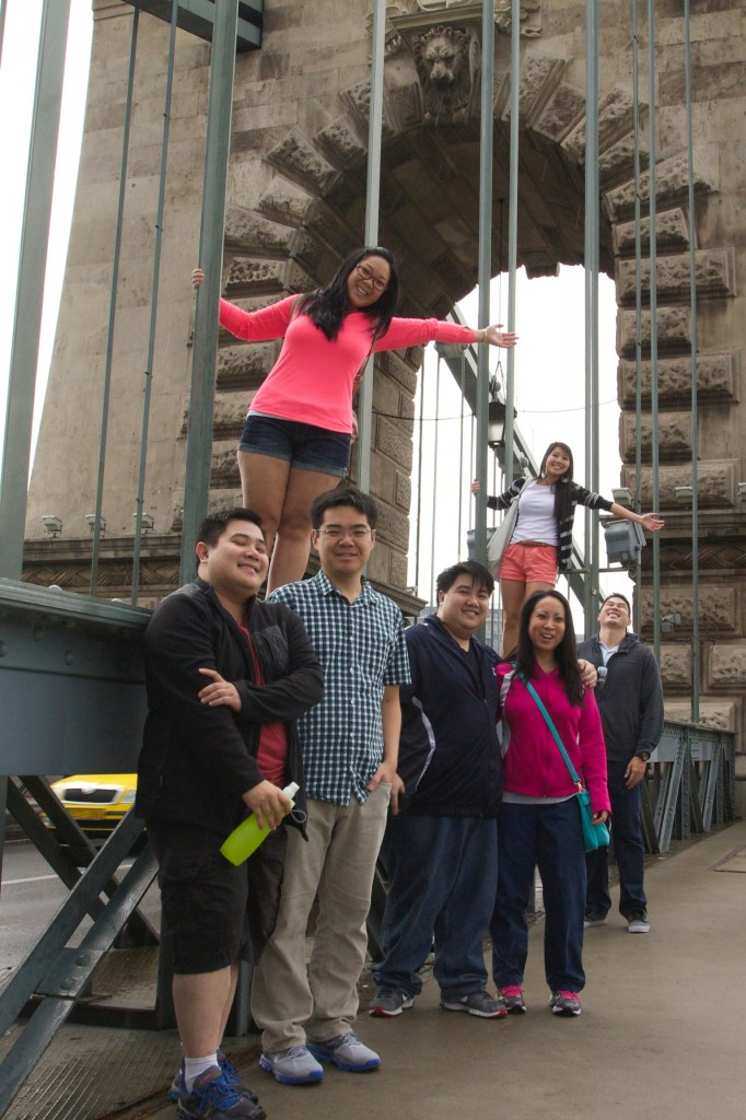 Crossing the Chain Bridge