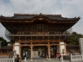Main entrance. Rightmost one is for snakes. Recently constructed, built of wood.